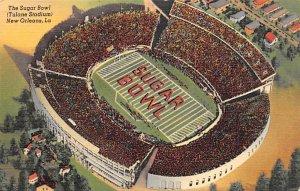 The Sugar Bowl - Tulane Stadium New Orleans, La., USA Football Stadium Unused