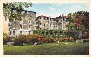 4476  MA Greenfield 1940's  Weldon Hotel