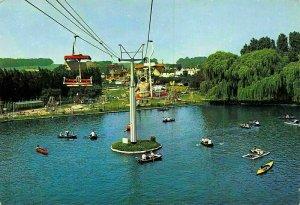 Netherlands Amusement Natuurbad Valkenburg Roeivijver Speeltuin Postcard
