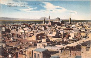 General View Damascus, Syria , Syrie Turquie, Postale, Universelle, Carte Unu...
