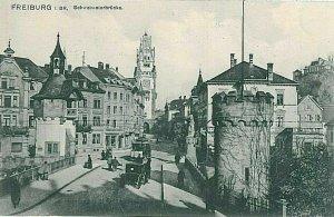 11766 - Ansichtskarten VINTAGE POSTCARD - Deutschland GERMANY - Freiburg i. Br.