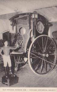Illinois Chicago Historical Society Old Chicago Hansom Cab