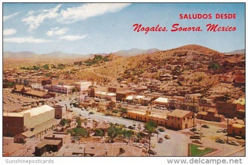 Mexico Nogales Sonora Intenational Fence