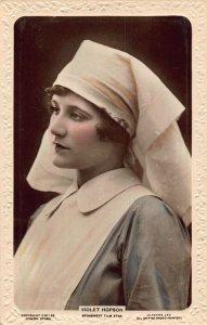 Violet Hopson Broadwest Film Star Postcard