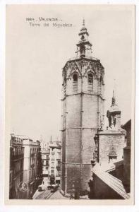 RP: Valencia, Spain, 1910s   Torre del Miguelete