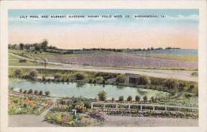 Iowa Shenandoah Lily Pool ans Nursery Gardens Henry Field Seed Company