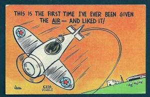 'First Time I've Been Given the Air & Like it ..' used c1944