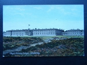 Surrey CAMBERLEY Royal Military College c1917 Postcard by Box & Gillham