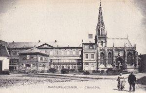 MONTREUIL SUR MER, Pas De Calais, France, 1900-1910s; L'Hotel-Dieu