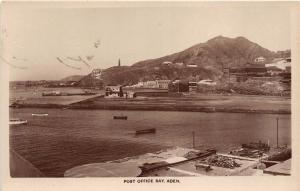 B92030 post office bay   real photo aden  yemen