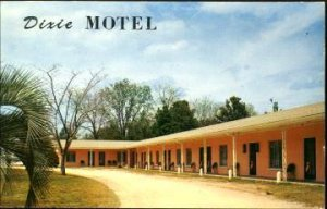 HILLIARD, view of 17 unit Dixie Motel on US #1,  early 1950s near JACKSONVILLE
