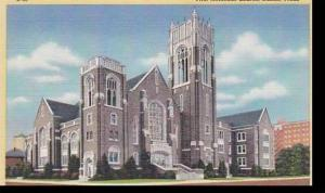 Texas  Dallas The First Methodist Church Albertype