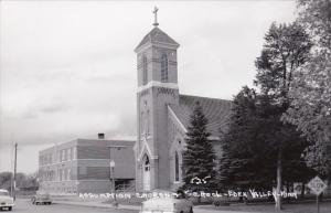 Minnesota Eden Valley Assumption Church and School Real Photo
