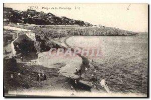 Old Postcard This range the Corniche