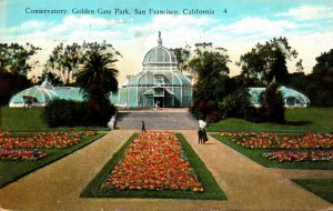 California San Francisco Golden Gate Park Conservatory 1931