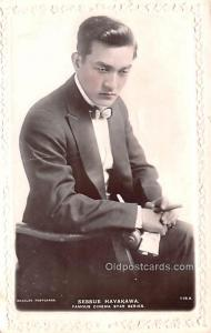 Sessue Hayakawa Movie Star Actor Actress Film Star Postcard, Old Vintage Anti...