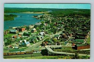 Ontario- Canada, Chapleau, Horseshoe Bridge, Chrome Postcard