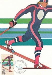 OLYMPIC GAMES ; Lake Placid , New York , 1984 ; Skiing