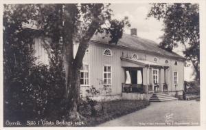 RP; Ojervik, Sjoo i Gosta Berlings saga, Burned down in 1947, SWEDEN, 30-50s