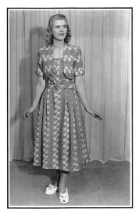 Utility Fashions Clothes Utility label, Beauty 1948 Nostalgia Reprint