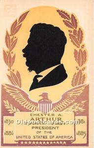 Chester A Arthur Twenty First President of the United States of America Unused