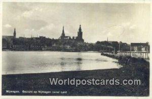 Gezicht op Nijmegen vanaf Lent Nijmegen Netherlands 1935