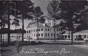 North Carolina Raleigh Scandia Village In The Pines 1958