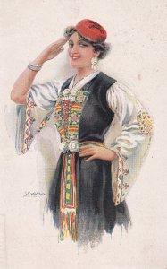 USABOL ; Woman Saluting , 00-10s