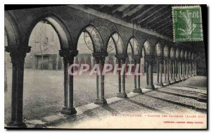 Postcard Old Toulouse Cloister of the Jacobins Lycee