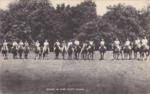 Horseback Riding At Fort Scott Camps Scouting