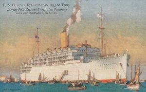 P.&O. Ocean Liner R.M.S. STRATHALLAN , 30-40s