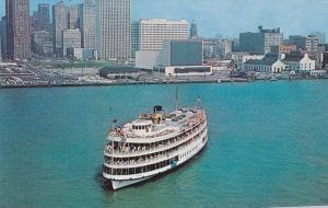 DETROIT, Michigan, 1940-1960s; Pleasure Ship COLUMBIA