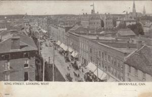BROCKVILLE , Ontario , Canada , 1906 ; King Street , Looking West