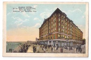 Alamac Hotel Atlantic City NJ Vintage Advertising Postcard