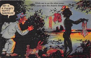 C149 Ray Walters Comic Postcards Naughty Curt Teich Postcard