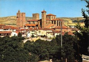 Spain Siguenza Guadalajara The Cathedral General view Catedral Postcard
