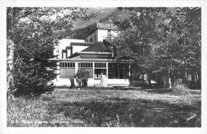 RPPC PULLEN HOUSE Skagway, Alaska Hotel ca 1940s Vintage Real Photo Postcard
