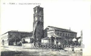Roma, Italy, Italia Chiesa di S Agnese fuori le Mura  Chiesa di S Agnese fuor...