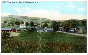 17508    Aerial View of West  Lebanon NY