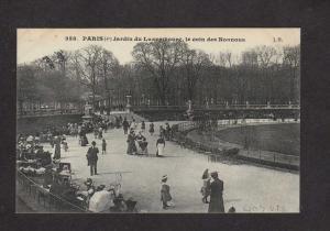 France Paris Jardin de Luxembourg le coin des Nounous Carte Postale Postcard