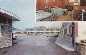 WEST-END Motel , Montreal , Quebec , Canada , 1950-60s