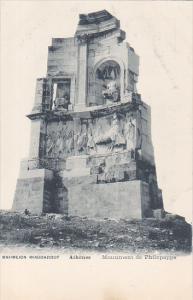 ATHENES. Greece  , 00-10s : Monument de Philopappe