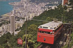 Tramway , Hong Kong , China , 60-80s