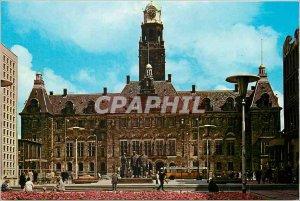 Postcard Modern Stadhuis Rotterdam Holland The Largest Townhall