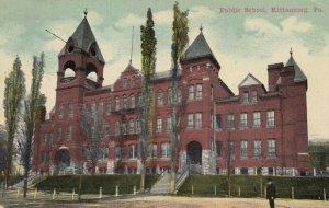 KITTANNING, Pennsylvania, 1900-10s; Public School