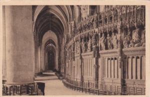 France Chartres Interieur de la Cathedrale Le Deambulatoire