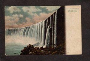 ON Niagara Falls Horseshoe Fall  New York Postcard NY NY Ontario