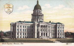State Capitol, Denver, Colorado, PU-1908