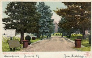 MEMPHIS , Tennessee, 1906 ; National Cemetery