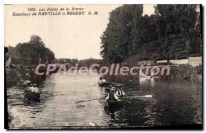Postcard Old boating Joinville In Nogent Les Bords De Marne